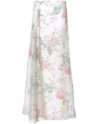 Ralph Lauren - Floral Flared Skirt - Lyst