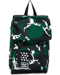 KTZ - Camouflage Print Backpack - Lyst
