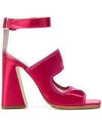 Nicole Saldaña - Block Heel Sandals - Lyst