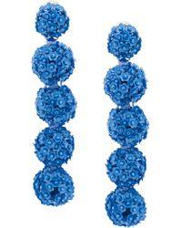Sachin & Babi - Fleur Bouquet Earrings - Lyst