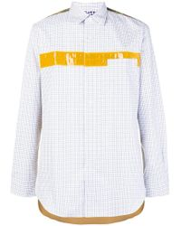 Junya Watanabe - Colour-block Fitted Shirt - Lyst