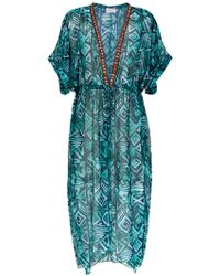 Brigitte Bardot - Silk Beach Dress - Lyst