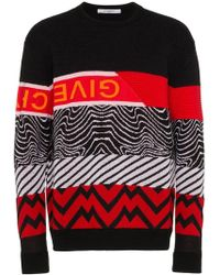 Givenchy - Animal Print Sweater - Lyst