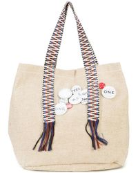 Dorothee Schumacher - Pin Embellished Canvas Tote Bag - Lyst