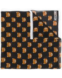 Moschino - Toy Bear Scarf - Lyst