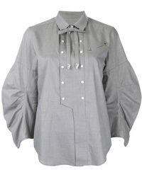 Toga Pulla - Embellished Bib Shirt - Lyst