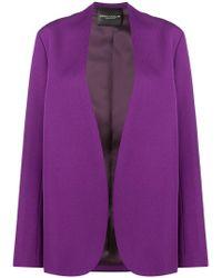 Erika Cavallini Semi Couture - Classic Fitted Blazer - Lyst
