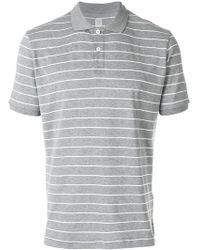 Eleventy - Striped Fitted T-shirt - Lyst