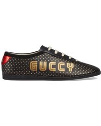 Gucci - Guccy Falacer Trainer - Lyst