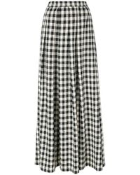 Ultrachic | Damier Maxi Skirt | Lyst
