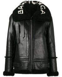 Balenciaga - Le Bombardier Leather Jacket - Lyst