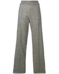 Pringle of Scotland - Straight-leg Knitted Trousers - Lyst