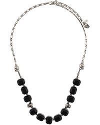 Alexander McQueen - Halskette mit Schmucksteinen - Lyst