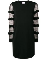 RED Valentino - See Through Dress - Lyst