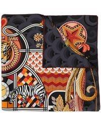 Ferragamo - Animal Print Scarf - Lyst