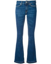 Dondup | Stonewashed Flared Jeans | Lyst