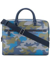 MICHAEL Michael Kors - Harrison Camouflage-print Briefcase - Lyst
