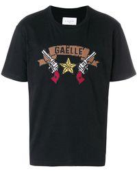 Gaëlle Bonheur - Printed T-shirt - Lyst
