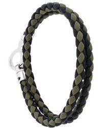Tod's - Braided Layered Bracelet - Lyst