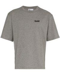 GmbH - 'Birk' T-Shirt mit Print - Lyst