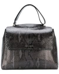 Orciani - Embossed Effect Tote Bag - Lyst