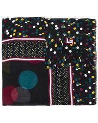 Diane von Furstenberg - Eclipse Dot Print Scarf - Lyst