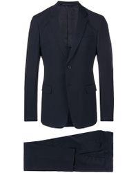 Prada - Slim Single Breasted Suit - Lyst