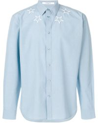 Givenchy | Star-embroidered Shirt | Lyst