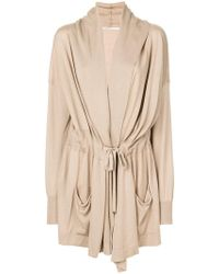 Agnona - Belted Cardigan - Lyst