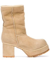 R13 - Shearling Lined Boots - Lyst