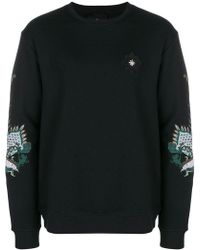 John Richmond - Embroidered Dragon Sweatshirt - Lyst
