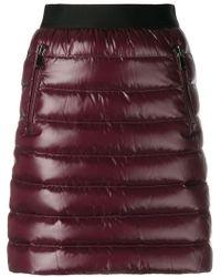 Moncler - Padded Mini Skirt - Lyst