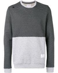 Saucony - Contrast Panel Sweatshirt - Lyst