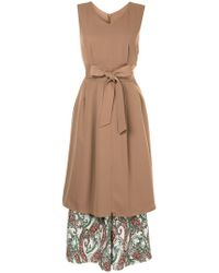 Loveless - Paisley Print Hem Dress - Lyst
