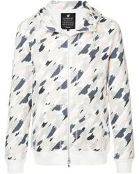 Loveless - Printed Zipped Hoodie - Lyst