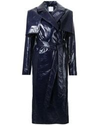 Christopher Esber - Caped Trench Coat - Lyst