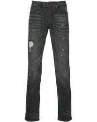 Loveless - Distressed Skinny Jeans - Lyst