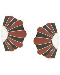 Monica Sordo - Geometric Maxi Earrings - Lyst