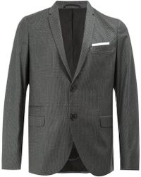 Neil Barrett - Pattern Detailed Blazer - Lyst