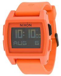 Nixon - Base Tide Watch - Lyst
