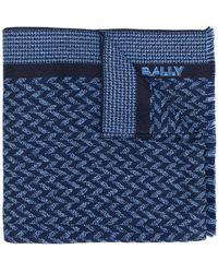 Bally - Logo Knitted Scarf - Lyst