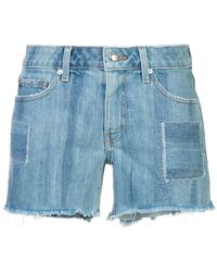 10 Crosby Derek Lam - Quinn Long Girlfriend Denim Short Pinto - Lyst
