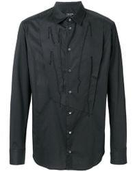 Tom Rebl - Reconstructed Bib Shirt - Lyst