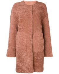 Meteo by Yves Salomon - Curly Merino Coat - Lyst