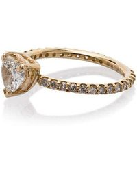 SHAY - Solitaire Heart Ring - Lyst