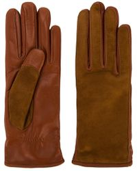 Lanvin - Contrast Finish Driving Gloves - Lyst