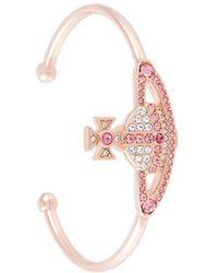 Vivienne Westwood - Crystal-embellished Bracelet - Lyst