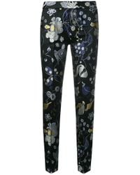 Christian Pellizzari - Embroidered Slim Fit Trousers - Lyst