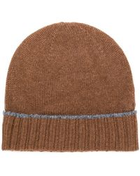 Eleventy - Cashmere Knitted Beanie - Lyst