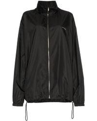 we11done - Black Windbreaker Sports Jacket - Lyst